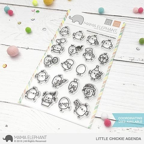 Mama Elephant Little Chickie Agenda