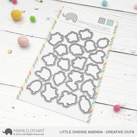 Mama Elephant Little Chickie Agenda - Creative Cuts