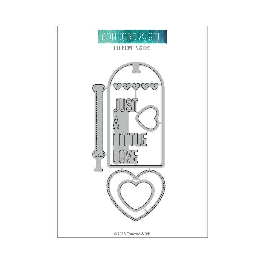 Concord & 9th LITTLE LOVE TAGS DIES