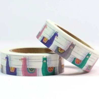 Llama Washi Tape