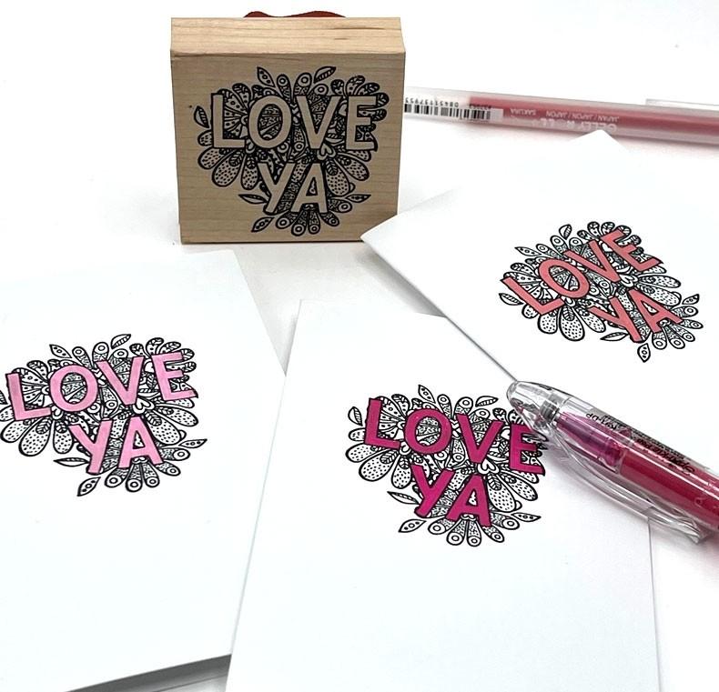 Sparkle Pop Pen - Pink