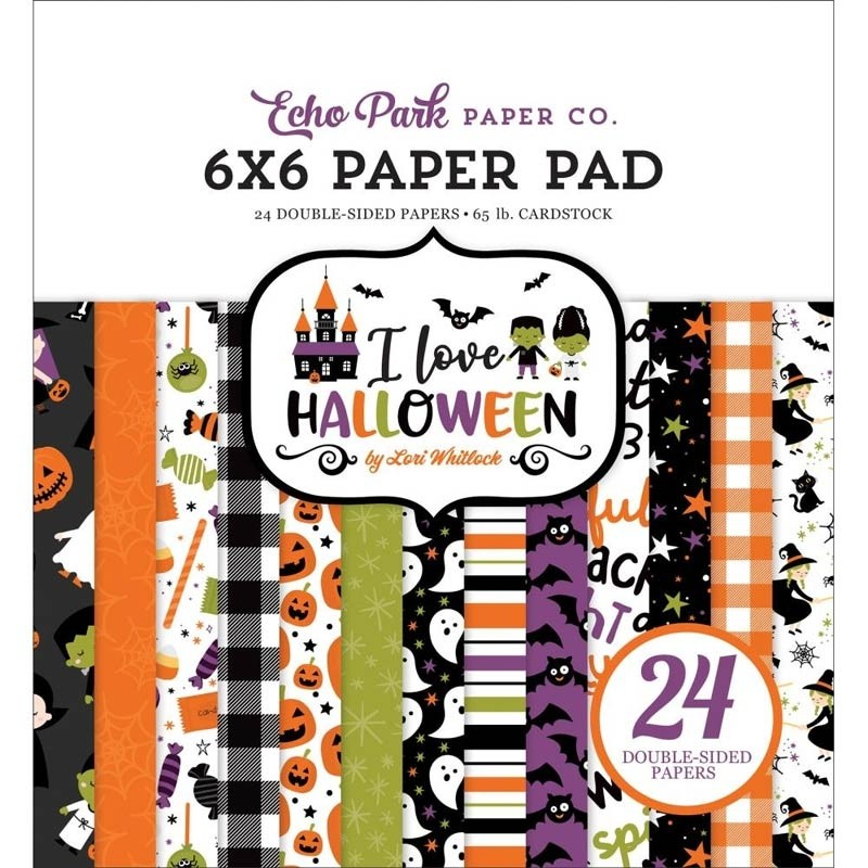 SALE - Echo Park I Love Halloween Paper Pack