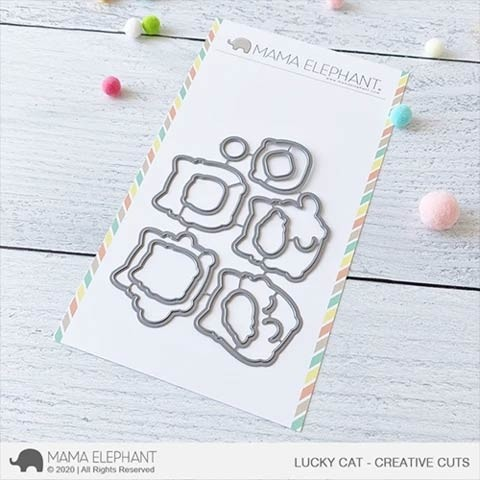Mama Elephant Lucky Cat - Creative Cuts
