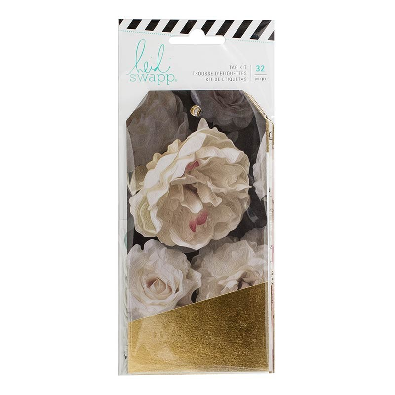 Heidi Swapp Magnolia Jane Foiled Tags