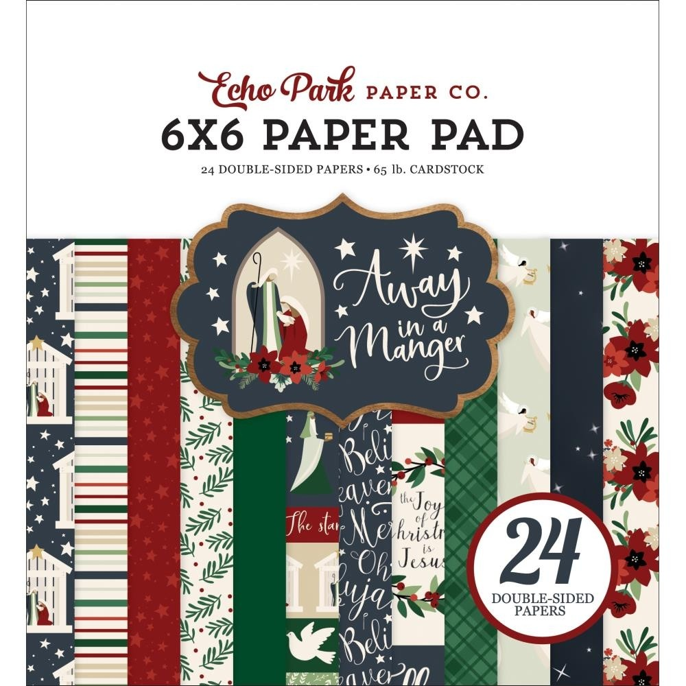 Echo Park Away in the Manger Paper Pad