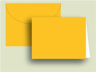 Mango Notecards