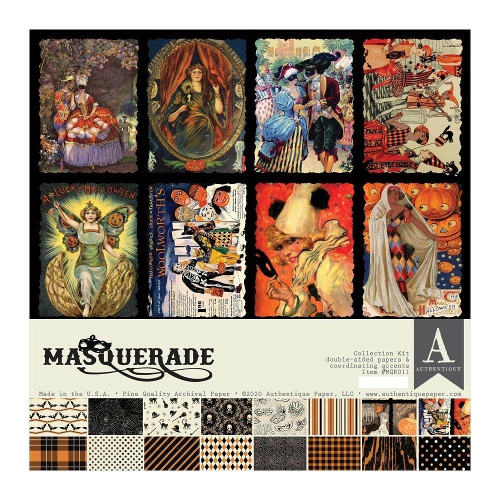 SALE - Authentique Masquerade Collection Kit 12x12