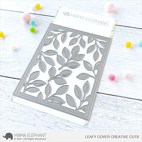Mama Elephant Leafy Cover - Creative Cuts