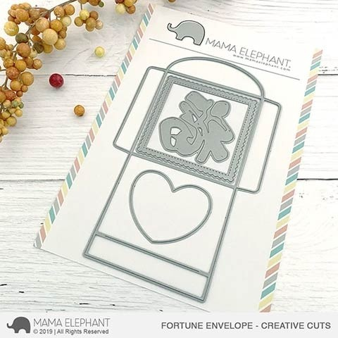Mama Elephant Fortune Envelope - Creative Cuts