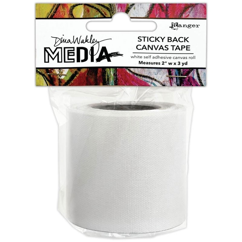 Dina Wakley Media Sticky Back Canvas
