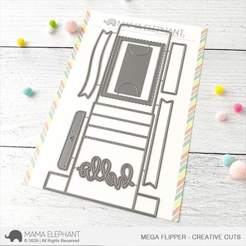 Mama Elephant Mega Flipper - Creative Cuts