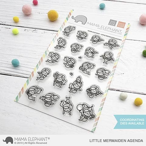 Mama Elephant Little Mermaiden Agenda