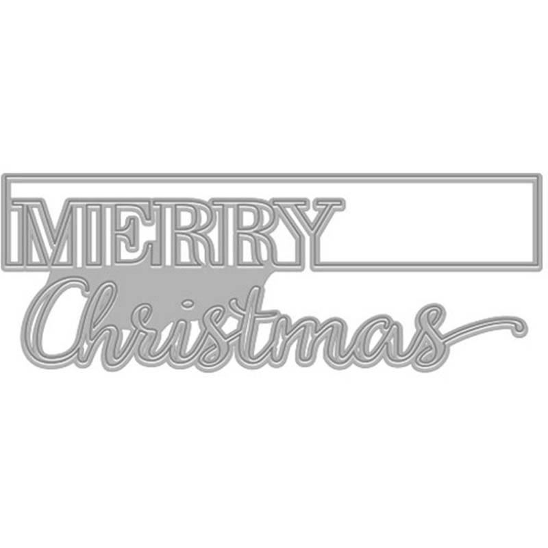 Hero Arts Merry Christmas Die
