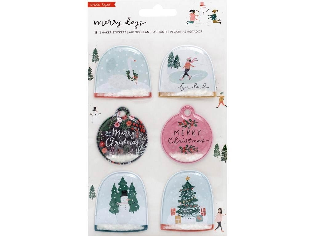 Crate Paper Collection Merry Days Sticker Shaker