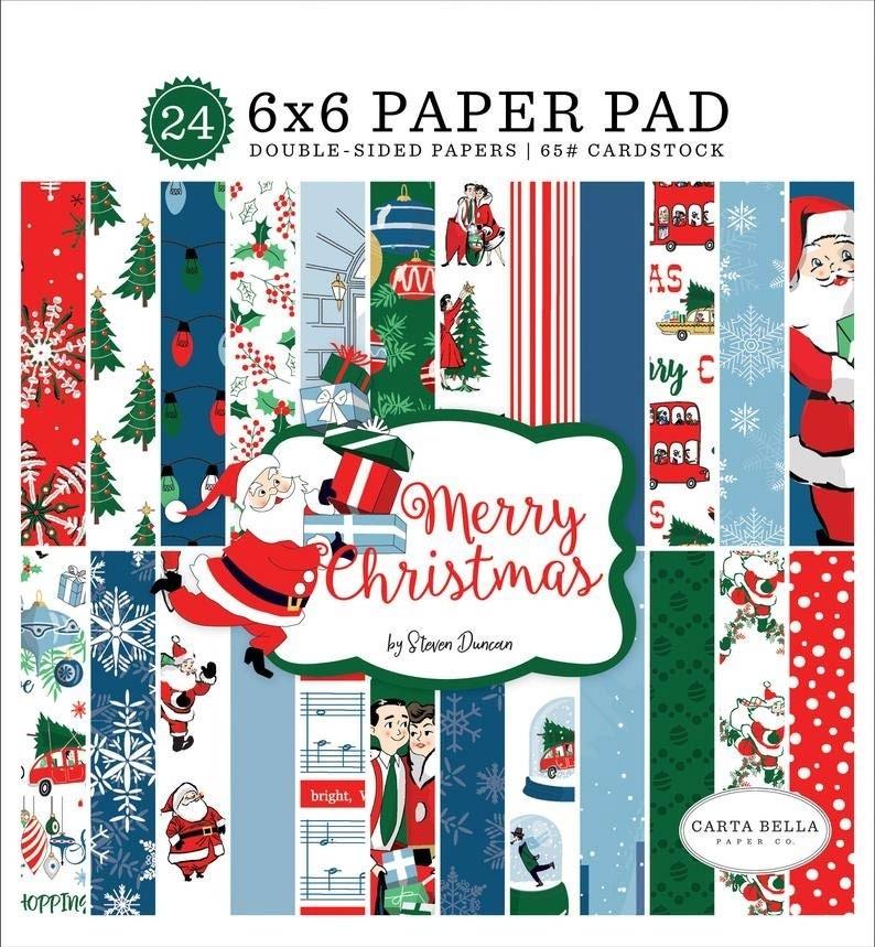 Carta Bella Merry Christmas Paper Pad