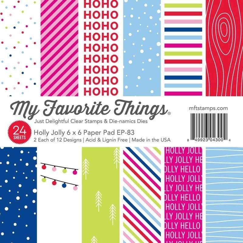 MFT Holly Jolly Paper Pad 6x6