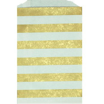 Middy Stripe bag - gold