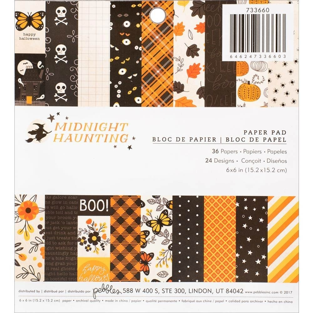 Midnight Haunting Paper Pack