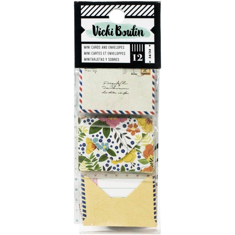 Vicki Boutin Mini Cards and Envelopes