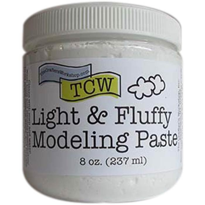 Crafter's Workshop-Light Whipped Modeling Paste.
