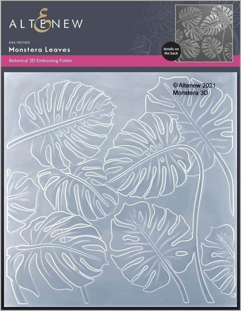 Monstera Embossing Folder