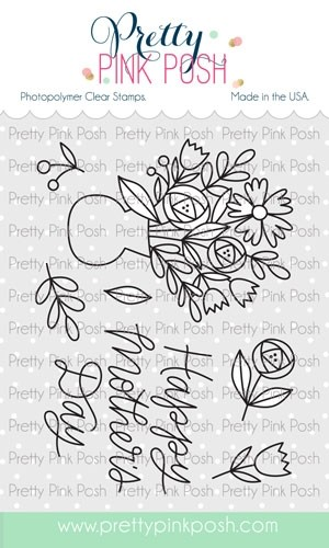 Pretty Pink Posh Mother's Day Stamps