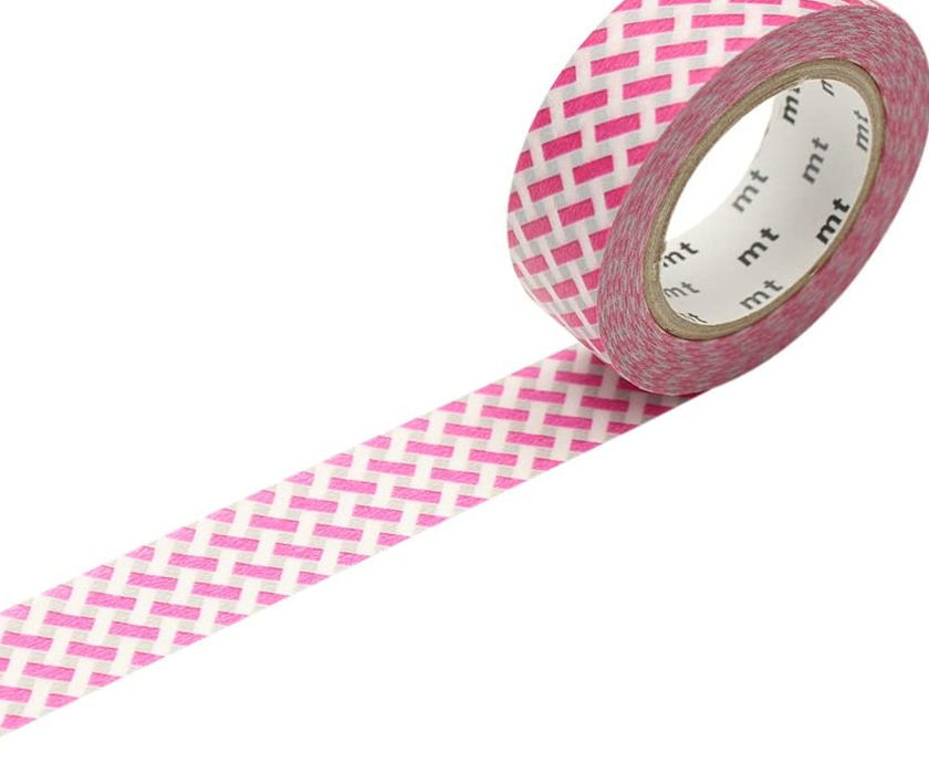 MT Pink Lines Washi Tape