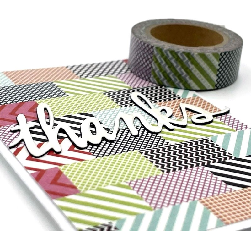 Multi Patterned Washi Tape