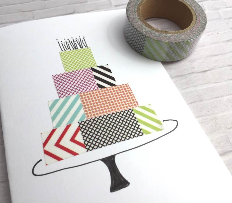 Multi Patterned Washi Tape