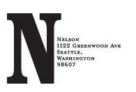 Monogram Address Stamp - Nelson