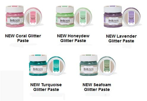 New Colors - Bo Bunny Glitter Paste