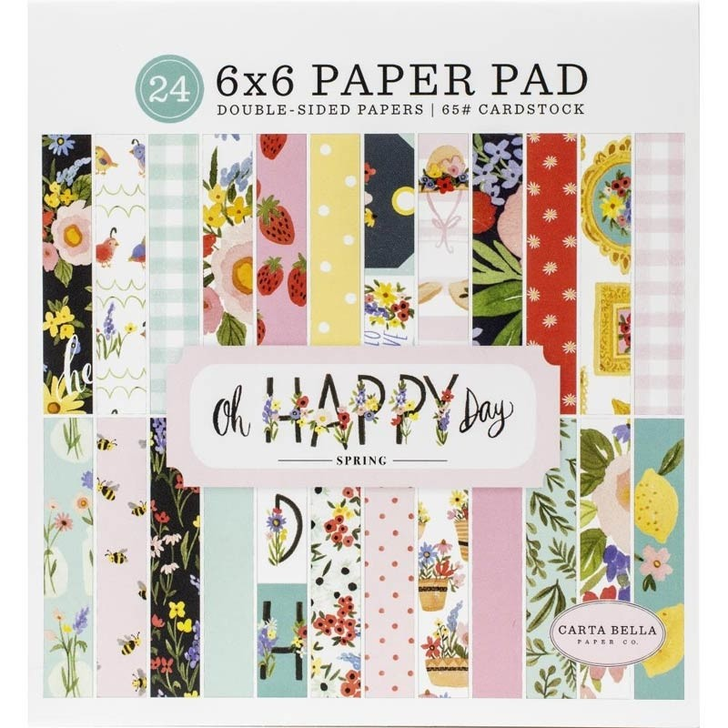 Carta Bella Oh Happy Day Spring Paper Pad