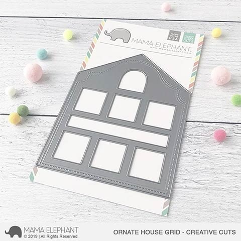 Ornate House Grid - Creative Cuts