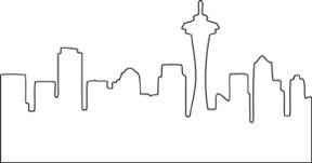 Seattle Skyline Die