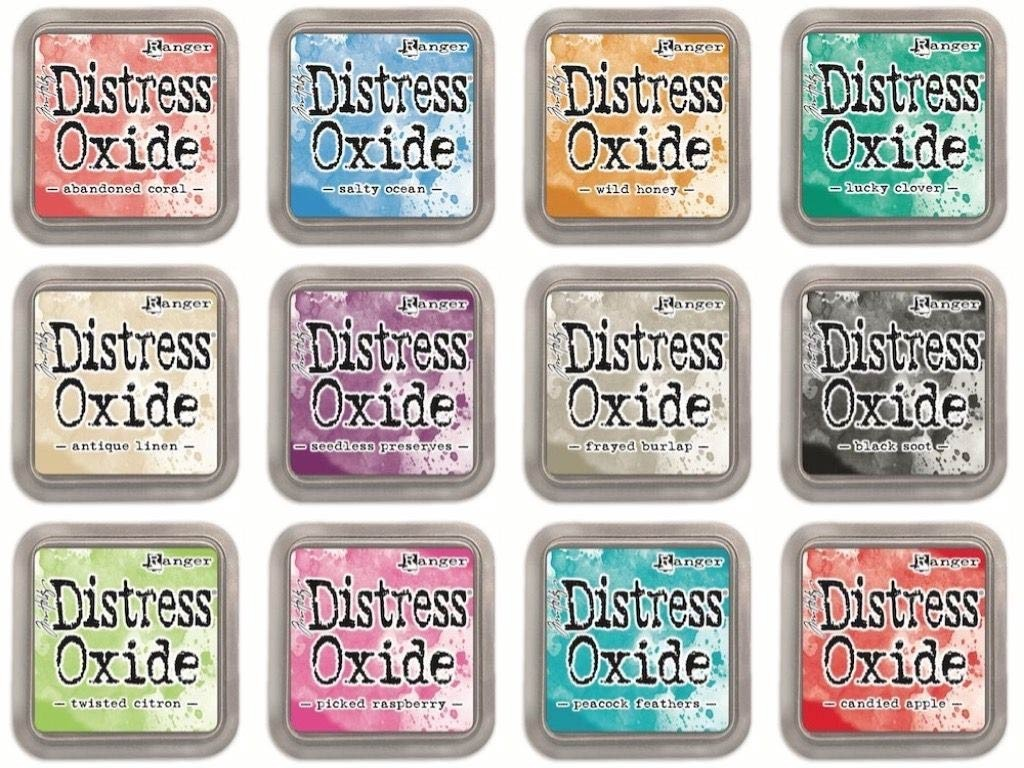 Distress Oxide Ink  Release 2