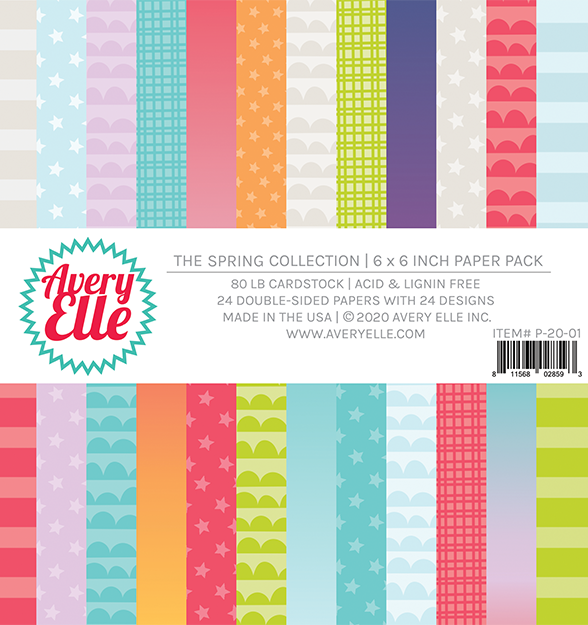 Avery Elle Spring Collection Paper Pad