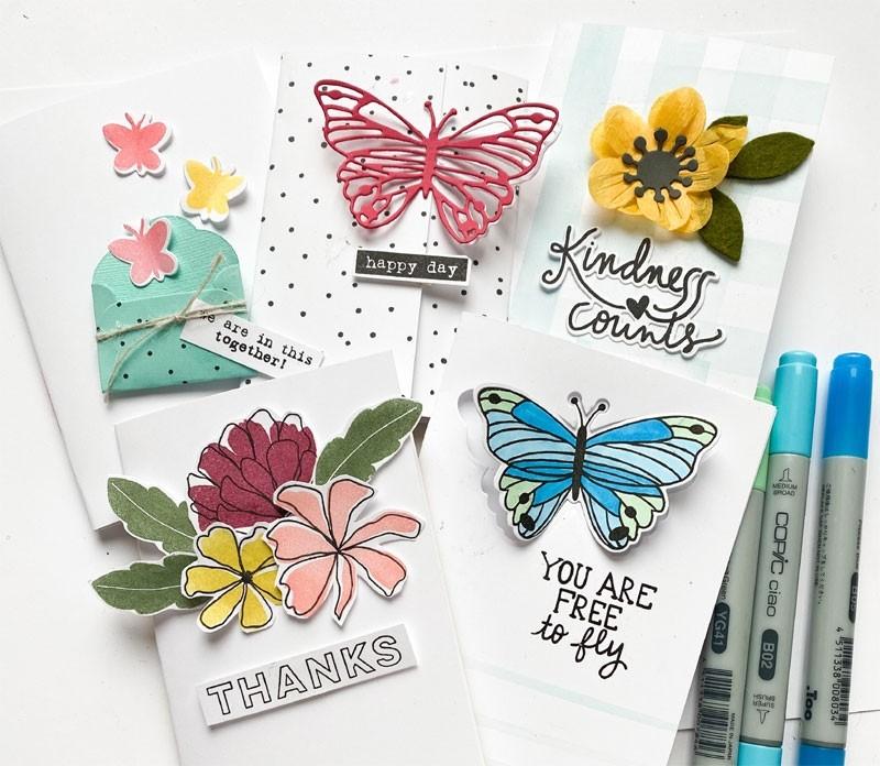 Flora and Fauna Spring Fling Card Kit
