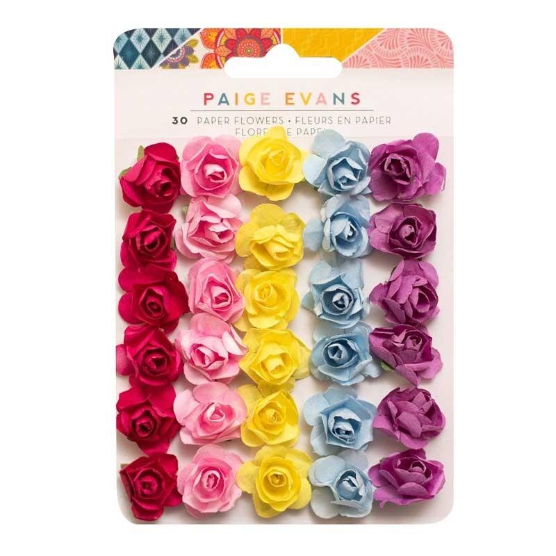 Paige Evans Wonders Dimensional Paper Flowers