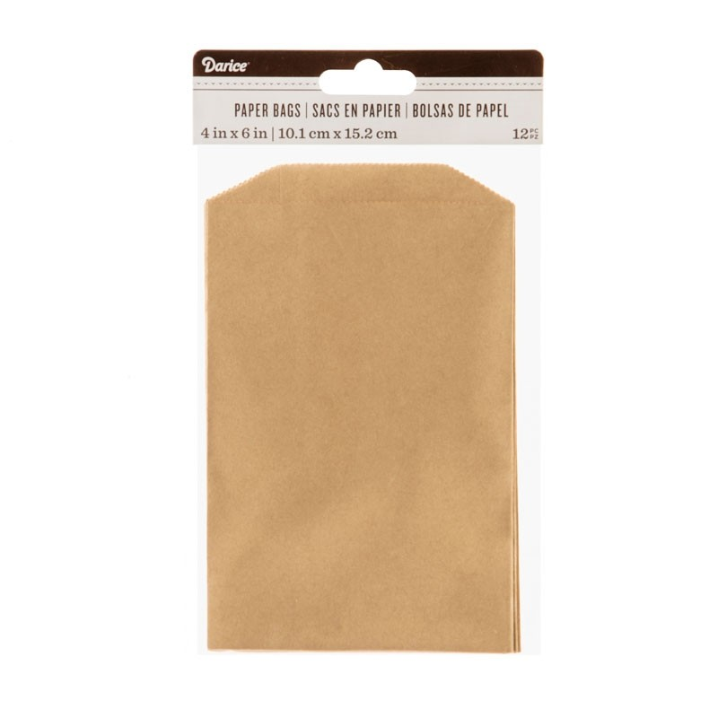 Kraft Paper Bags 4 x 6 inches