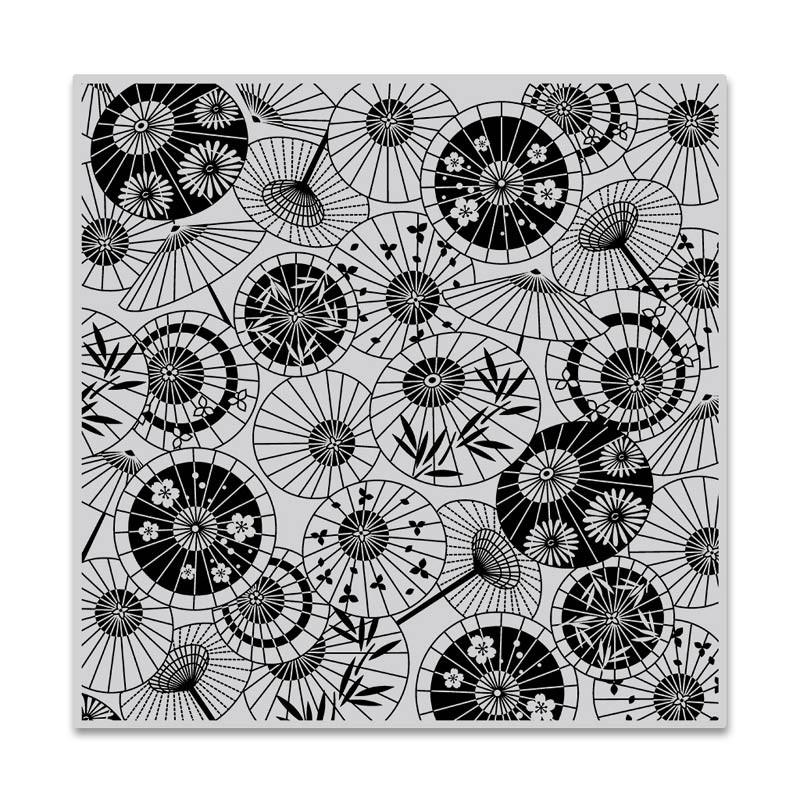 Hero Arts Parasol Pattern Bold Prints CG808