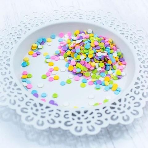 Pretty Pink Posh Party Pop Clay Confetti