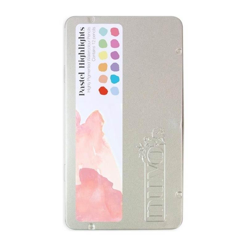 Nuvo Pastel Highlights Watercolor Pencils