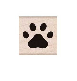Hero Arts Paw Rubber Stamp
