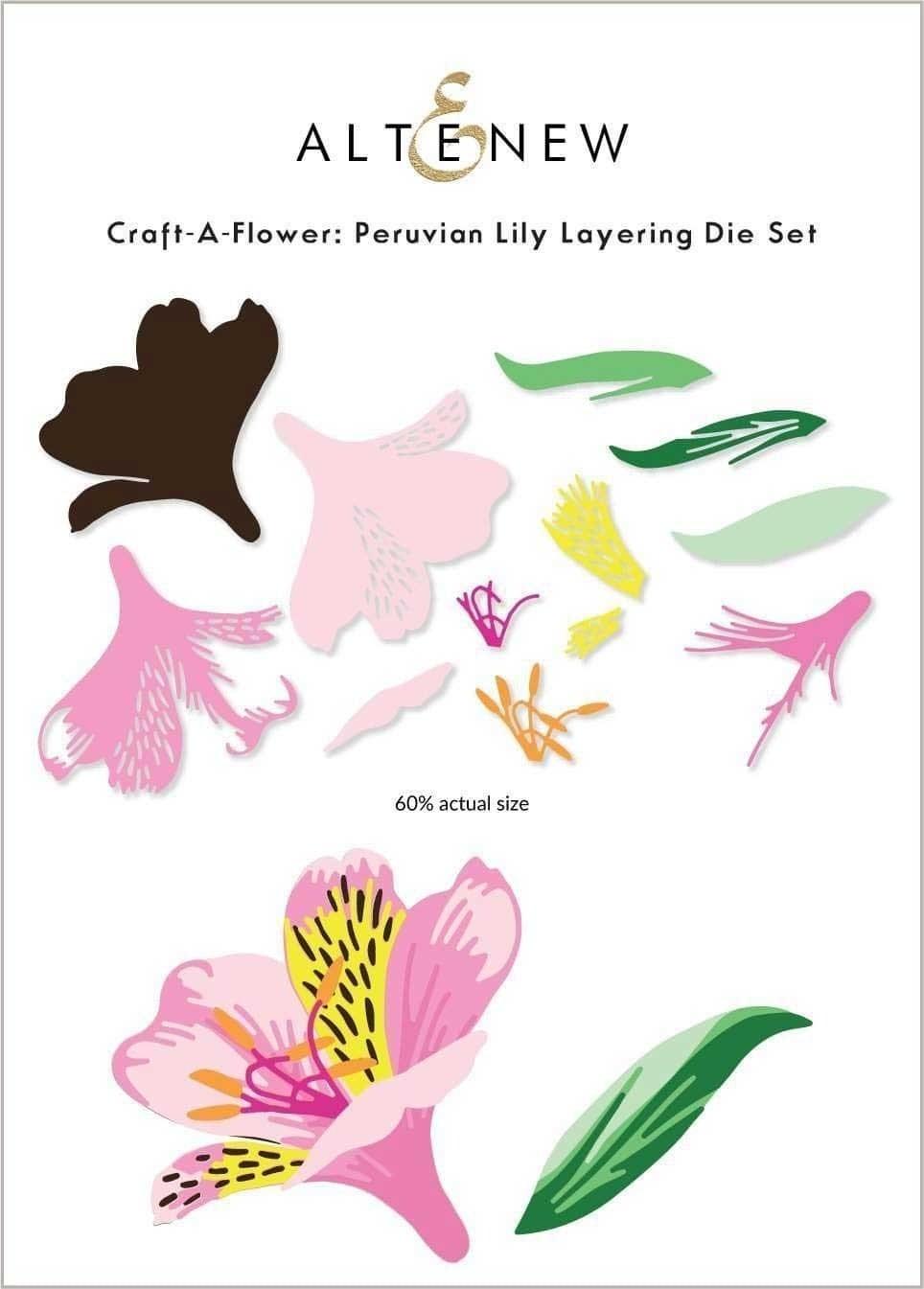 Altenew Craft-A-Flower: Peruvian Lily Layering Die Set