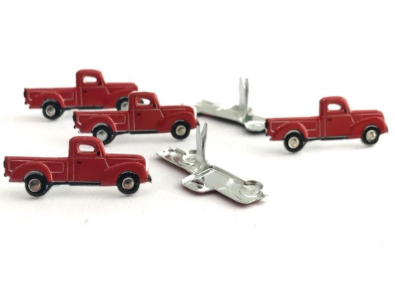 Red Pickup Brads