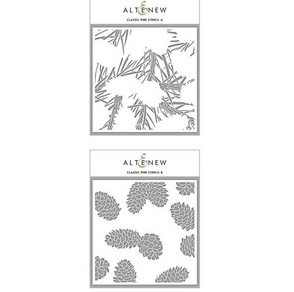 Classic Pine Stencil Set