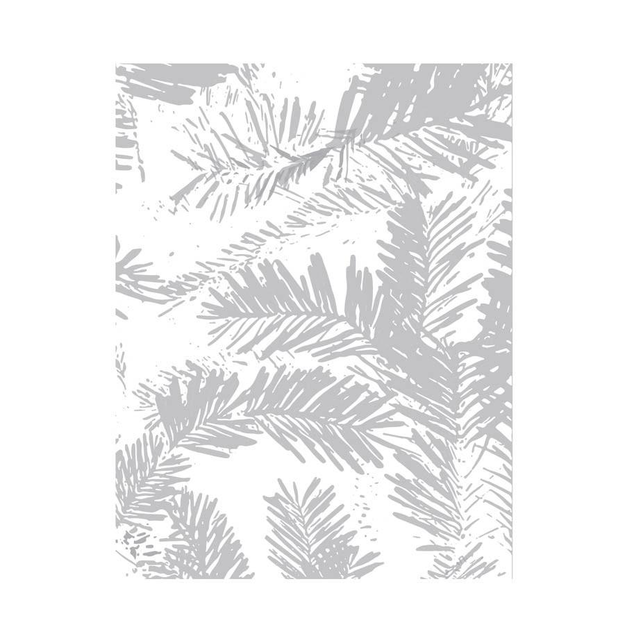 Pine Needle Embossing Folder