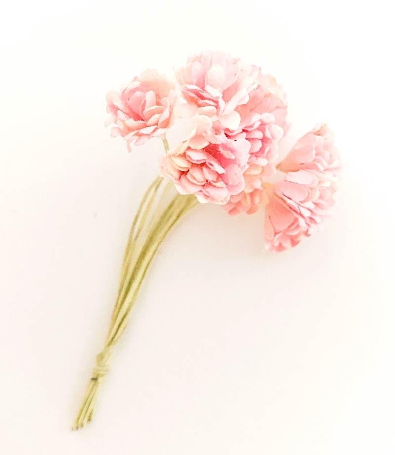 Large Pink Bouquet Paper Flowers