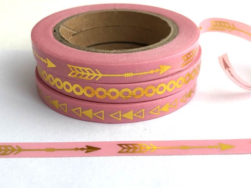 Pink Washi Tape Trio - SALE