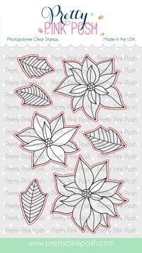 Pretty Pink Posh Poinsettias coordinating dies